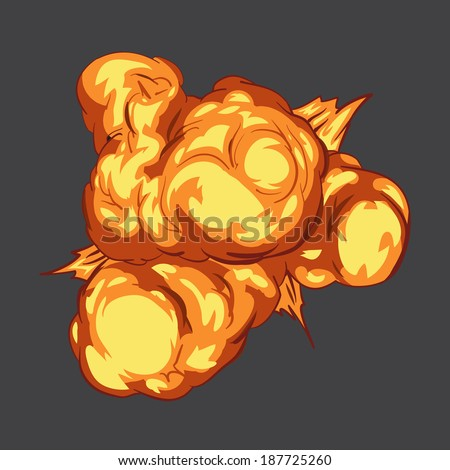how to draw a bomb explosion