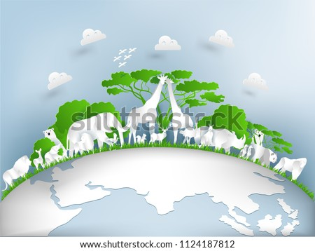 illustration design concept of