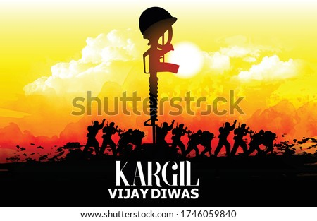 illustration design for kargil