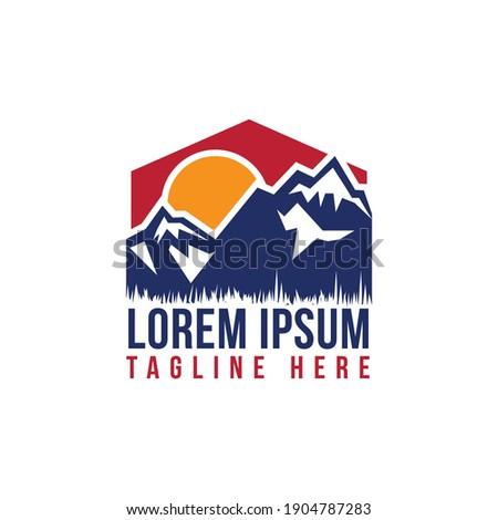 illustration design mountain