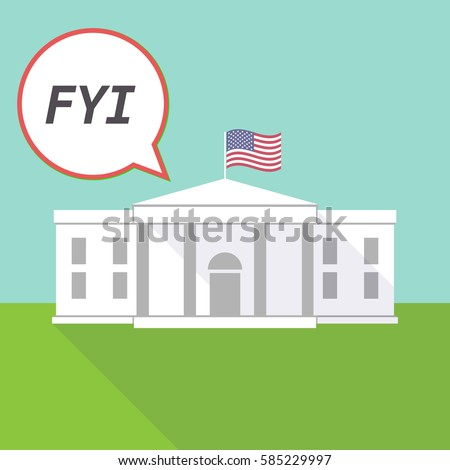 illustration fo the white house