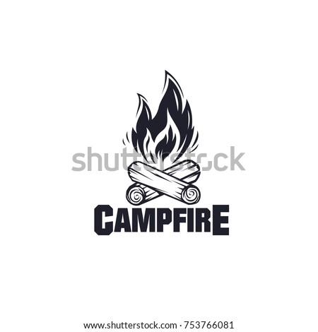 illustration for sport camping