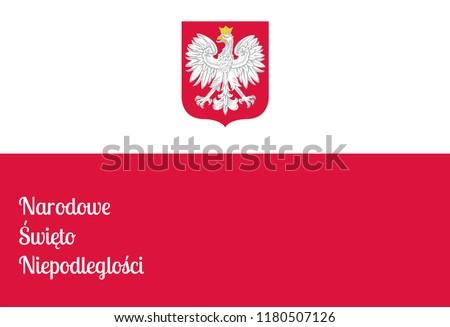 Polen Karte Umriss.Polnische Eagle Vektor Flagge Download Kostenlos Vector