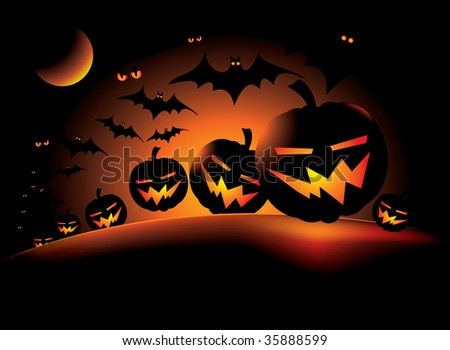 illustration for the holiday halloween