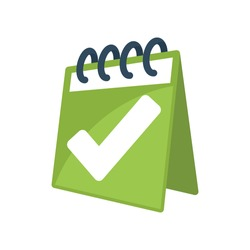 Illustration icon for evaluation schedule.