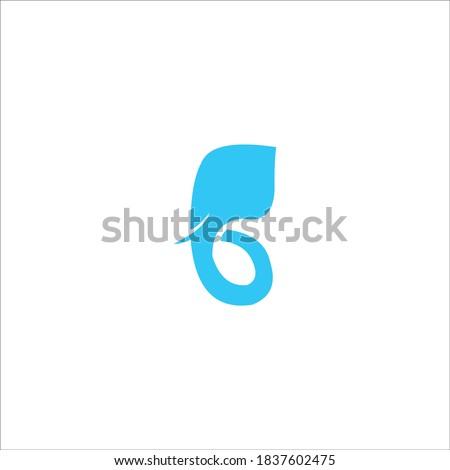 illustration logo elephant icon templet Stock fotó ©