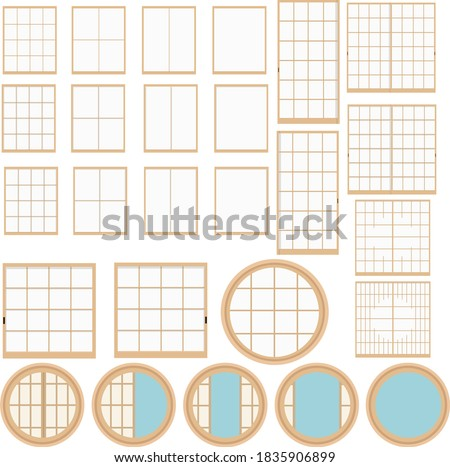 illustration material japanese