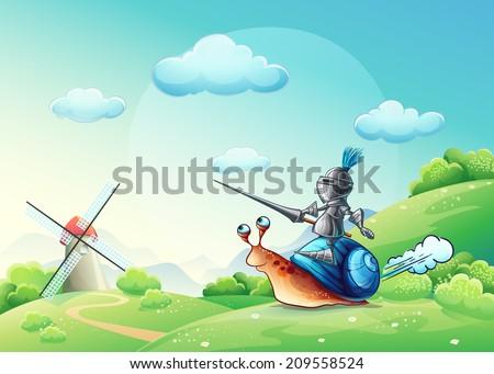 illustration merry knight