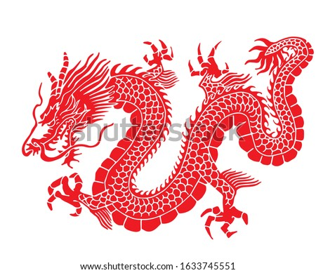 illustration myth animal dragon
