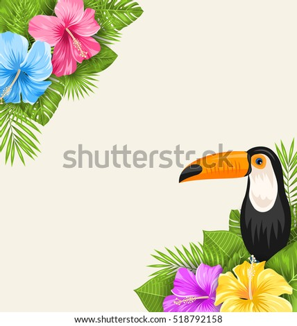 illustration nature tropical...