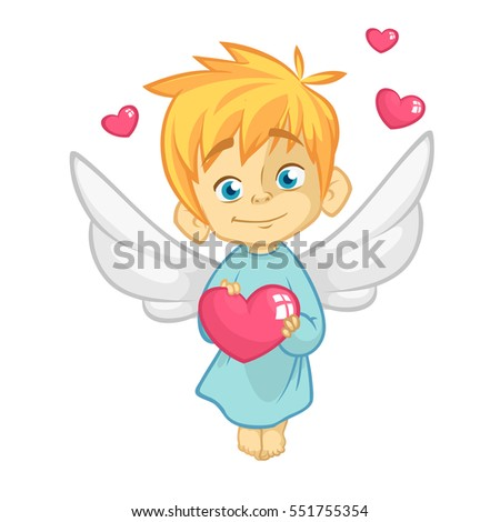 illustration of a baby cupid
