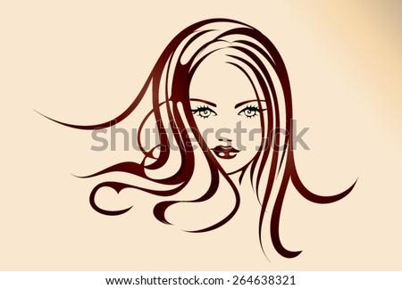 illustration of a beautiful