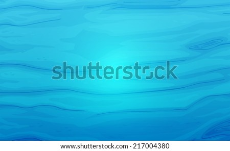 illustration of a blue water