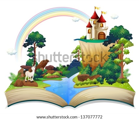 illustration of a book with a