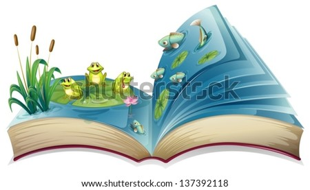 illustration of a book with an