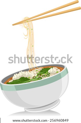 illustration of a bowl of