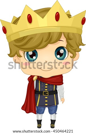 illustration of a boy wearing a