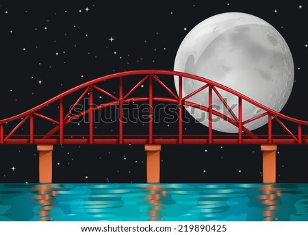 illustration of a bridge