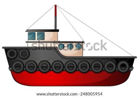 tugboat clipart vectors download free vector art stock graphics rh vecteezy com Tugboat Graphics Small Tugboat