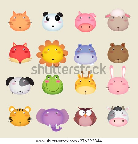 illustration of a cute animal