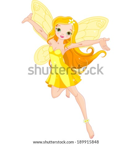 illustration of a cute yellow