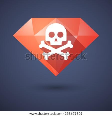illustration of a diamond icon
