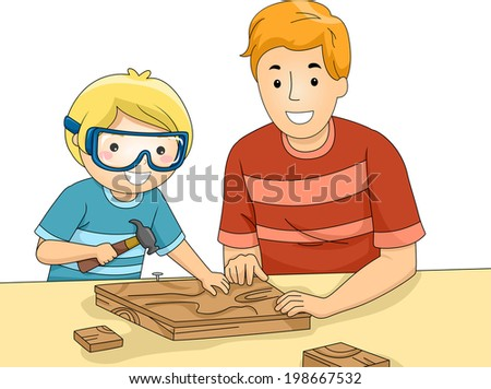 father son woodworking projects