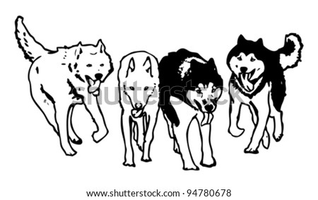 Dogs Vectors Pack
