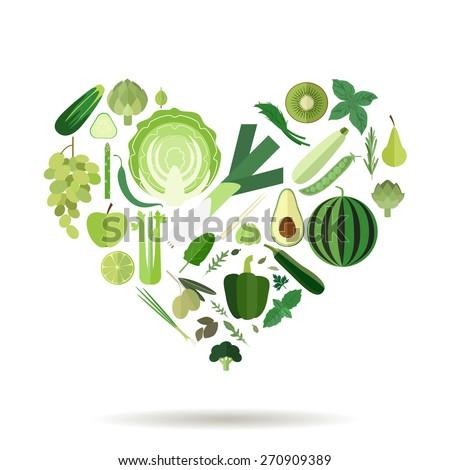 illustration of a heart filled