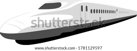 illustration of a high speed
