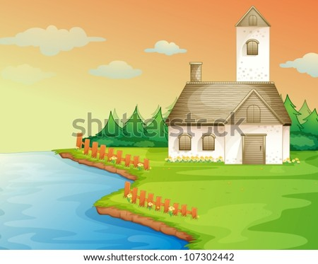 illustration of a house on the