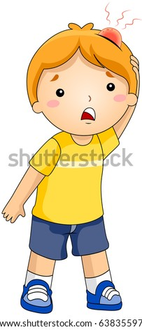 illustration of a kid with a