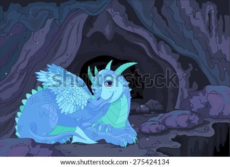 illustration of a lady dragon