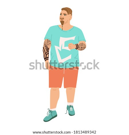 illustration of a man with a