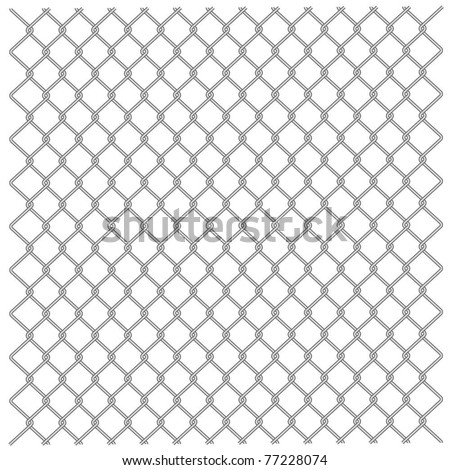 illustration of a metal mesh