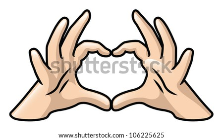 Many Hands Forming a Heart Hands Forming a Heart