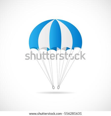 illustration of a parachute...