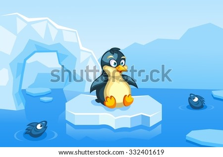 illustration of a penguin on an