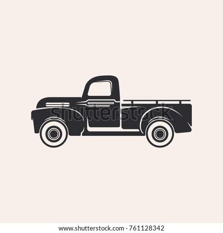 Illustration of a pickup truck
