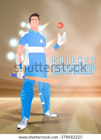 illustration of a player