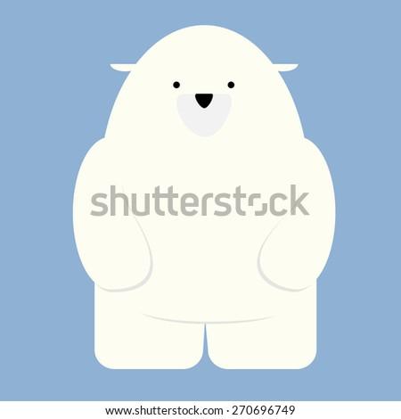illustration of a polar bear