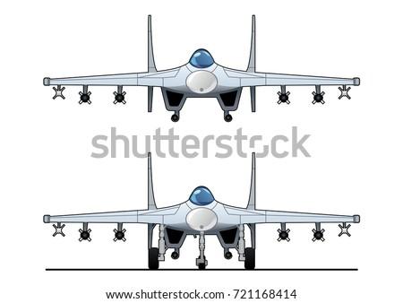 illustration of a pursuit plane