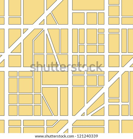 illustration of a seamless city map background