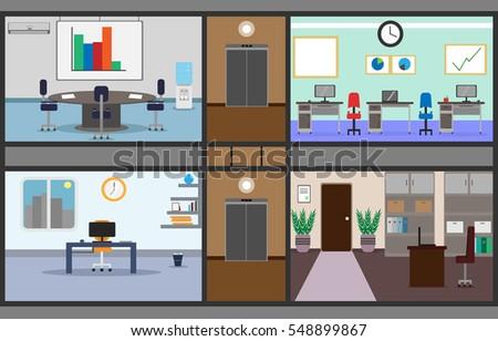 illustration of a set of