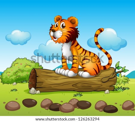 illustration of a tiger