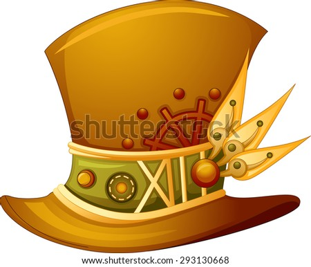 illustration of a top hat with