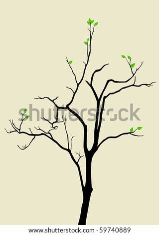 illustration of a tree with a