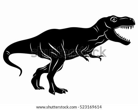 illustration of a tyrannosaurus