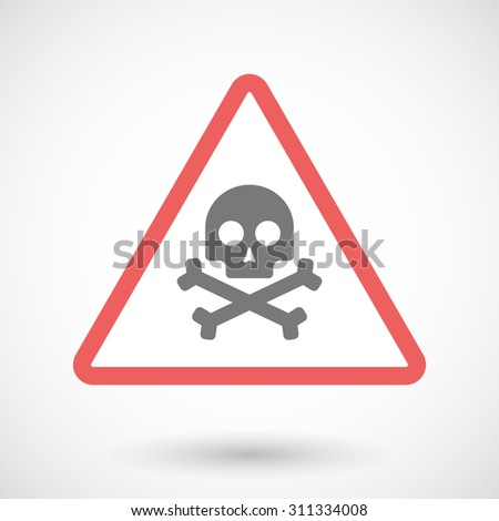 illustration of a warning sign