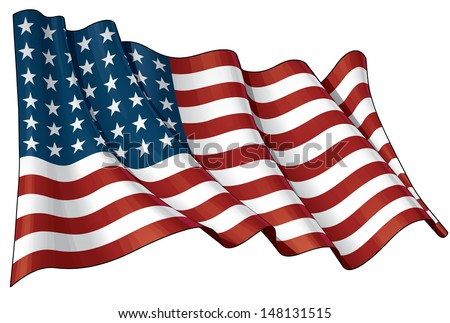 us flags vectors free vector art at vecteezy rh vecteezy com vector american flag waving vector american flag background